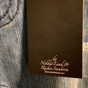 Size 2 jeans by nikki Lund & Richie sambora